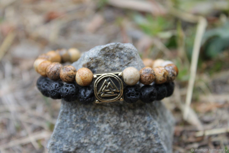 Viking bracelet made of stone, Hard bracelet, Volgograd,  Фото №1