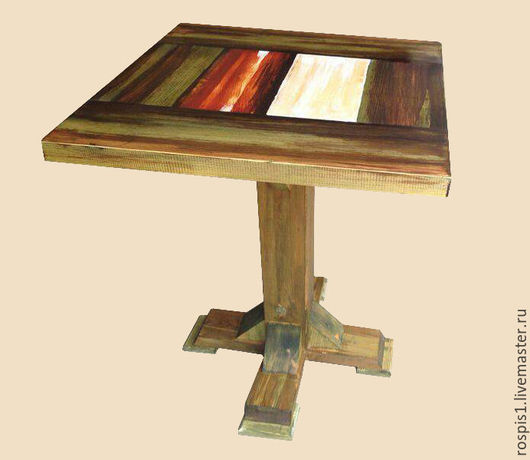 Мебель ручной работы. Ярмарка Мастеров - ручная работа. Купить Стол палитра. Handmade. Зеленый, стол, стол палитра