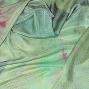 Материалы для творчества ручной работы. Ярмарка Мастеров - ручная работа Шёлк натуральный (Италия). Handmade.