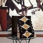 Комоды ручной работы. Ярмарка Мастеров - ручная работа Комод АРТ-ДЕКО для хранения украшений. Handmade.