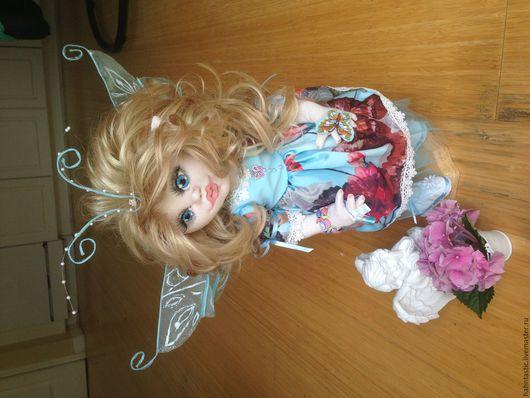 Авторская коллекционная кукла. Фея Бабочек-Эвви