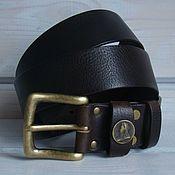 Аксессуары handmade. Livemaster - original item Belt leather men`s Notitle.. Handmade.