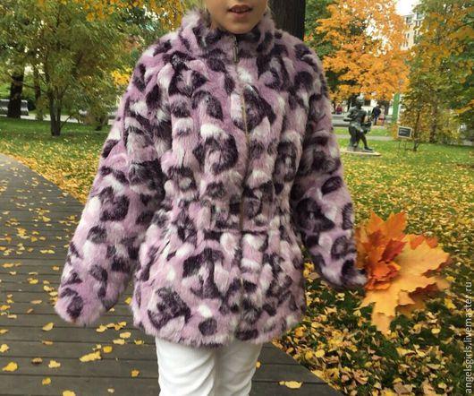 Верхняя одежда ручной работы. Ярмарка Мастеров - ручная работа. Купить Куртка детская из искусственного меха. Handmade. Куртка