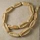 Для украшений ручной работы. Ярмарка Мастеров - ручная работа. Купить Бусины длинные бежевые из семян цедрелла (Филиппины), 25-27 мм. Handmade.