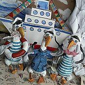 Куклы и игрушки ручной работы. Ярмарка Мастеров - ручная работа Матросы альбатросы. Handmade.