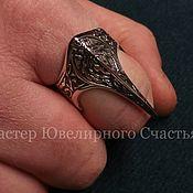 "Русский стиль handmade. Livemaster - original item Ring - amulet ""Falcon Claw"" silver 925. Handmade."