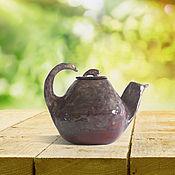 Посуда ручной работы. Ярмарка Мастеров - ручная работа Кунг-фу чайник. Handmade.