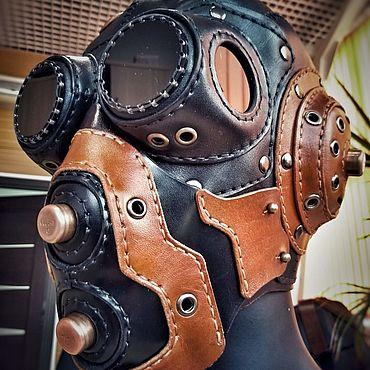 Субкультуры ручной работы. Ярмарка Мастеров - ручная работа Аксессуары: Steampunk mask V2 Levit-MasterHatred. Handmade.