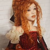 "Dolls handmade. Livemaster - original item Author`s boudoir doll: ""Lisa"".. Handmade."