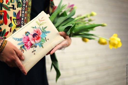 Женские сумки ручной работы. Ярмарка Мастеров - ручная работа. Купить Клатчи. Handmade. Клатч, дизайнерский клатч, сумка летняя