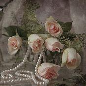 Картины и панно ручной работы. Ярмарка Мастеров - ручная работа Натюрморт Букет роз. Handmade.