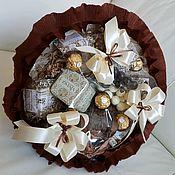 Букеты ручной работы. Ярмарка Мастеров - ручная работа Кофейный букет Подарок руководителю. Handmade.