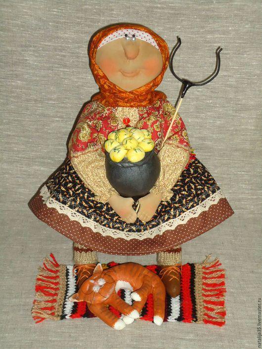 Ароматизированные куклы ручной работы. Ярмарка Мастеров - ручная работа. Купить Деревенские угощения. Handmade. Кукла интерьерная, чугун