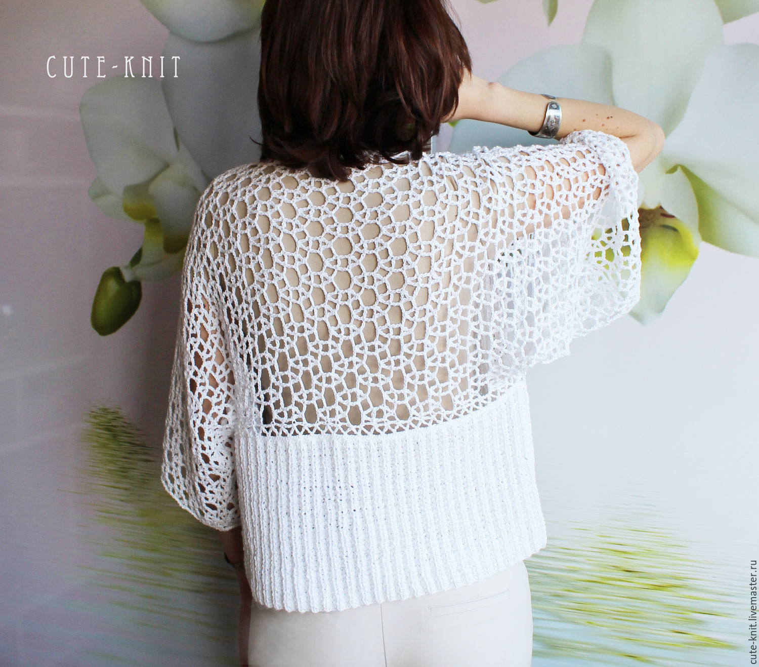 To better visualize the model, click on the photo CUTE-NAT Onipchenko KNIT Cardigan buy