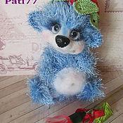 Куклы и игрушки ручной работы. Ярмарка Мастеров - ручная работа ягодный мишка. Handmade.