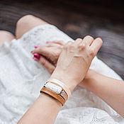 Украшения handmade. Livemaster - original item Beige-brown bracelet with Jasper. Handmade.