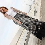 Одежда handmade. Livemaster - original item Warm skirt