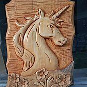 Картины и панно handmade. Livemaster - original item Unicorn:. Handmade.