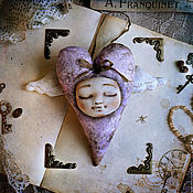Подарки к праздникам ручной работы. Ярмарка Мастеров - ручная работа Сердечное Саше. Handmade.