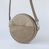 handmade. Livemaster - original item Leather women`s bag Circle. Handmade.