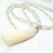 Украшения handmade. Livemaster - original item With pendant-necklace with brush
