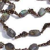 Украшения handmade. Livemaster - original item Necklace Labrador