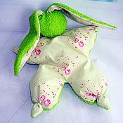 Куклы и игрушки ручной работы. Ярмарка Мастеров - ручная работа Копия работы Игрушка -сплюшка для сна  ( зайка, игрушка, сон). Handmade.