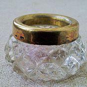 Винтаж handmade. Livemaster - original item The salt shaker. Silver. Crystal.. Handmade.