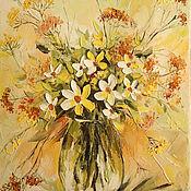 Картины и панно ручной работы. Ярмарка Мастеров - ручная работа осенний цвет. Handmade.