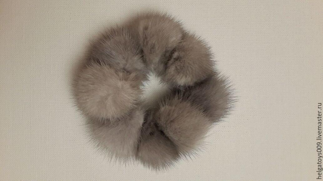 резинка для волос из меха своими руками