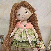 Куклы и игрушки handmade. Livemaster - original item Little doll Olya. Handmade.