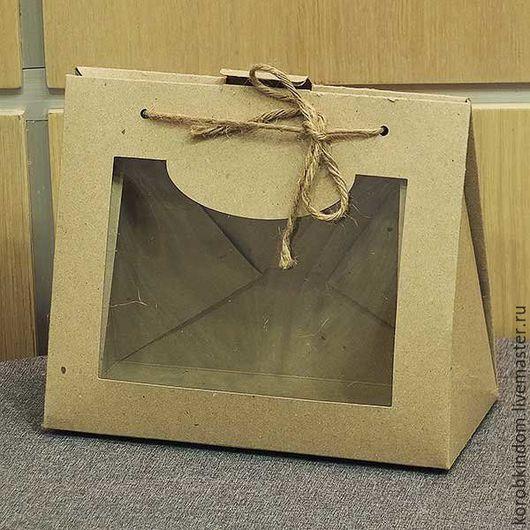 Упаковка ручной работы. Ярмарка Мастеров - ручная работа. Купить Коробочка-крыша 21х18,5х10,5 см. Handmade. Коробочка