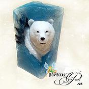 Мыло ручной работы. Ярмарка Мастеров - ручная работа Мыло Белый медведь в льдине. Handmade.