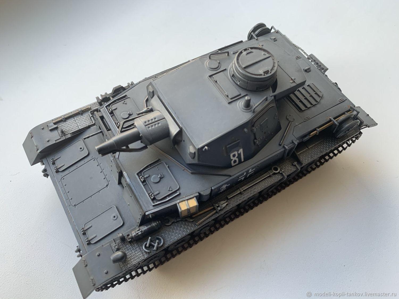 Модель копия танка Pz.Kpfw-IV Ausf.D, Военная миниатюра, Краснодар,  Фото №1