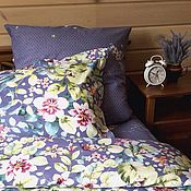 Для дома и интерьера handmade. Livemaster - original item bed linen waltz of the flowers. Handmade.