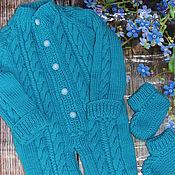 Работы для детей, handmade. Livemaster - original item Copy of Copy of knitted jumpsuit Baby. Handmade.
