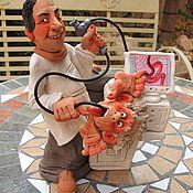Для дома и интерьера ручной работы. Ярмарка Мастеров - ручная работа Гастро-энтеролог. Handmade.