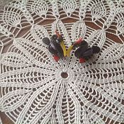 Для дома и интерьера ручной работы. Ярмарка Мастеров - ручная работа Салфетка крючком Кантри. Handmade.