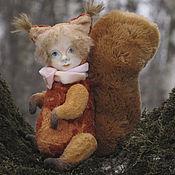 Куклы и игрушки ручной работы. Ярмарка Мастеров - ручная работа Белочка. Тедди-долл. Handmade.