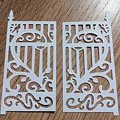 Материалы для творчества handmade. Livemaster - original item !Cutting for scrapbooking -Gates of love - cardboard design. Handmade.