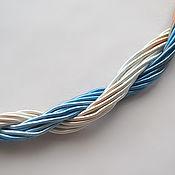 Материалы для творчества handmade. Livemaster - original item Thick viscose cord (no. №27), price per 1 meter. Handmade.