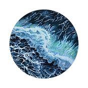 Картины ручной работы. Ярмарка Мастеров - ручная работа Картины: Волна. Handmade.