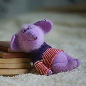 Куклы и игрушки ручной работы. Ярмарка Мастеров - ручная работа Лавандовый Слонопотам. Handmade.