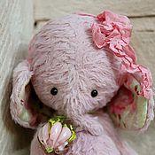 Куклы и игрушки ручной работы. Ярмарка Мастеров - ручная работа Макаруны. Gentle Rose.Слоник тедди. Handmade.