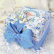 Подарки к праздникам ручной работы. Ярмарка Мастеров - ручная работа Мамины сокровища. Для новорожденного мальчика.. Handmade.