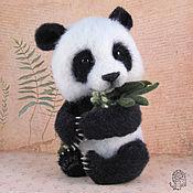 Куклы и игрушки handmade. Livemaster - original item Panda Lu. Handmade.