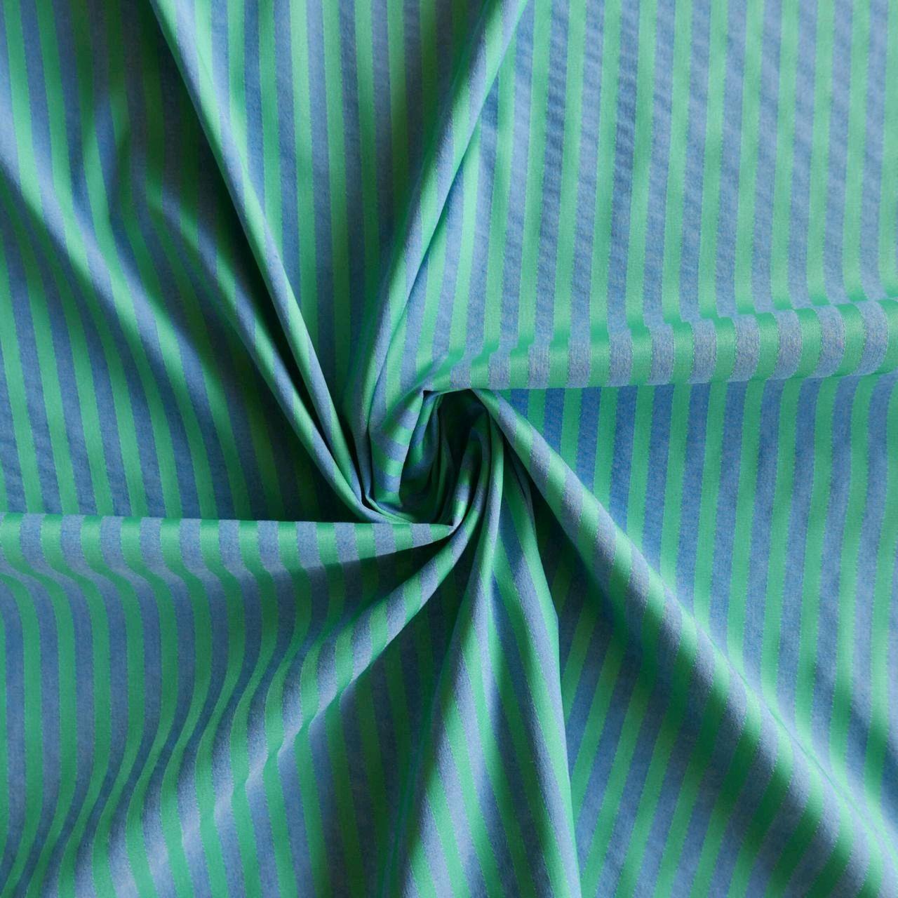 Ткань хлопок полосатый, Ткани, Москва,  Фото №1