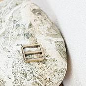 Материалы для творчества ручной работы. Ярмарка Мастеров - ручная работа Литая регулировочная рамка 20 мм, глянцевая латунь. Handmade.