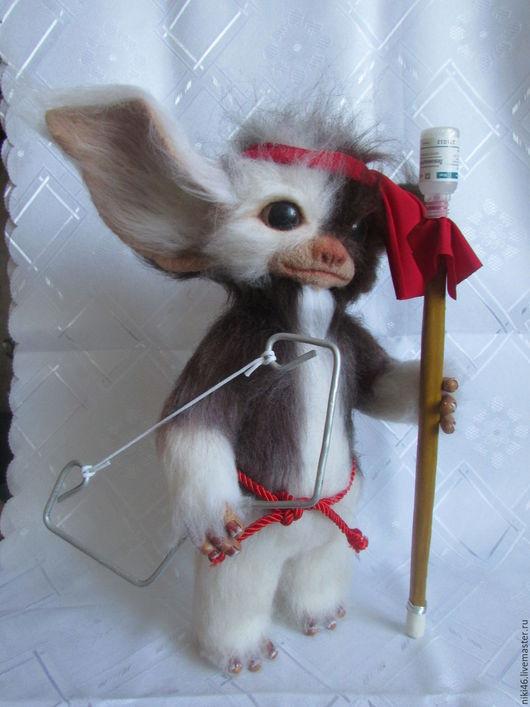 Игрушки животные, ручной работы. Ярмарка Мастеров - ручная работа. Купить Гизмо - Магвай. Handmade. Валяная игрушка, фелтинг, подарок