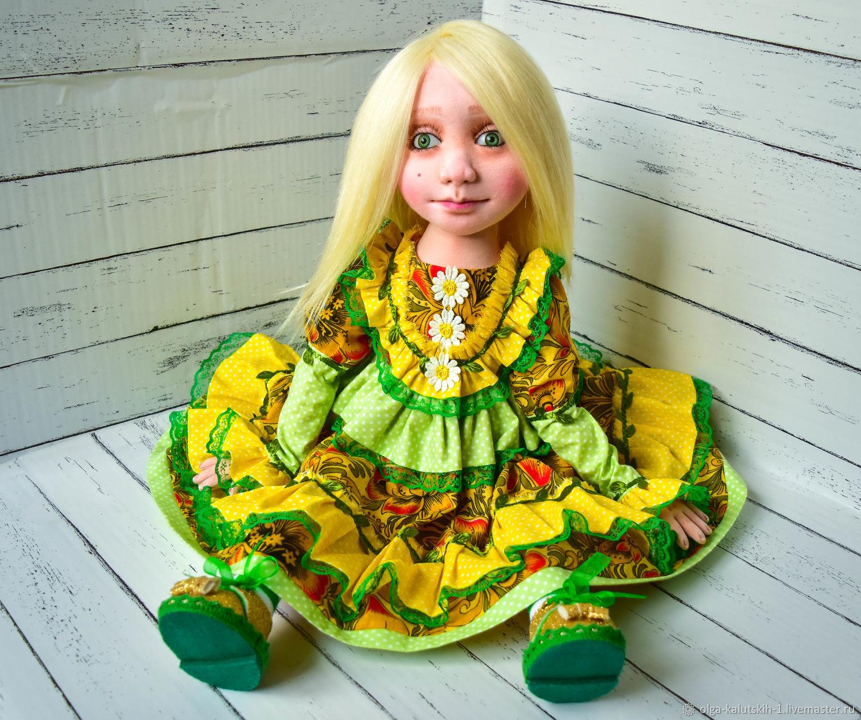 Текстильная кукла Елизавета, Куклы и пупсы, Москва,  Фото №1